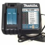 静岡県 焼津市 のお客様から Makita メロディ付き急速充電器 DC18RF 14.4V 18V 店舗買取いたしました。