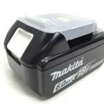 静岡県 静岡市 駿河区 のお客様から makita 純正 リチウムイオン バッテリ 18V 6.0Ah BL1860B 店舗買取いたしました。