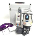 静岡県 静岡市 駿河区 のお客様から MAX マックス レーザー墨出器 LA-402 大矩 両縦 横 受光器 店舗買取いたしました。