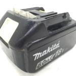 静岡県 静岡市 清水区 のお客様から makita 純正 18V バッテリー BL1860B 6.0Ah 店舗買取いたしました。